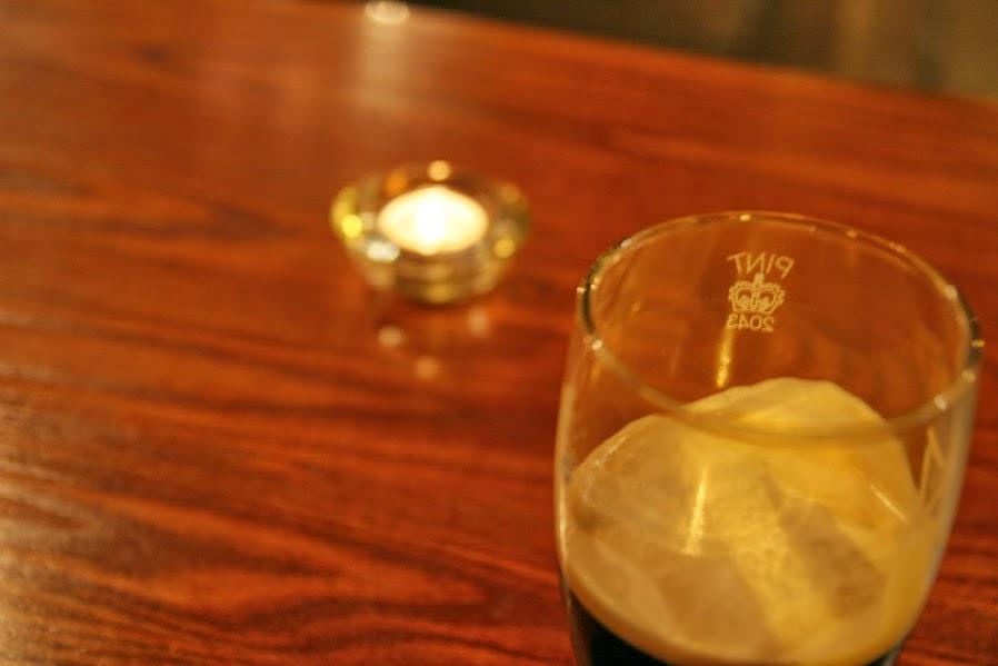 ビールのアップ