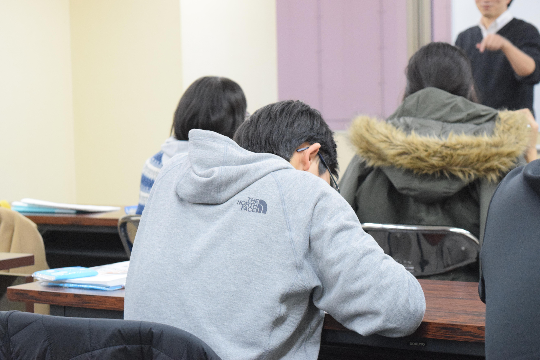 仙台向山高等学校に前期試験で合...